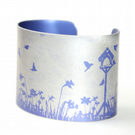 Spring garden cuff light purple