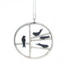 Four swallows necklace