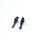 Oxidised swallow studs