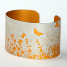 Summer hedgerow cuff narrow orange