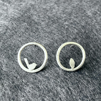 Edge of the woods small circle studs