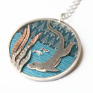 'The Fisher' otter necklace