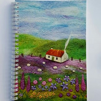 Gardener's Cottage Notebook with Printed Cover