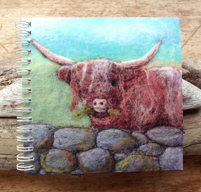 Highland Cow Notebook