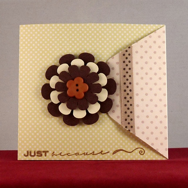 Handmade Card 'Just Because I Think You're Awesome'
