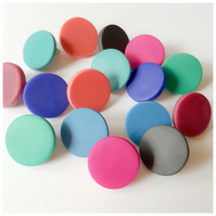 Giant Colour Dot Polymer Clay Stud Earrings in various colours