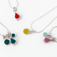 Interchangeable Pendant Necklace, Create your own Necklace!