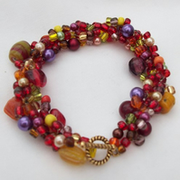 Autumn Fruits Bracelet