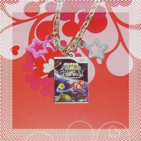 super mario galaxy necklace