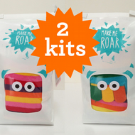 Offer - 2 sock monster making kits