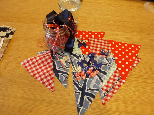 Union Jack Red White and Blue Bunting