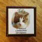 Personalised Pet Memorial Wooden Boxes