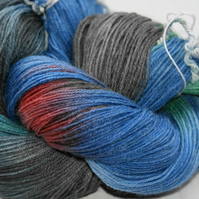 "Hand dyed sock yarn ""Pastorale"" colourway"