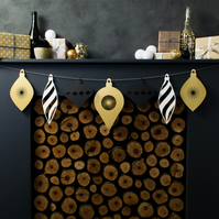 Giant Christmas Bauble Paper Garland