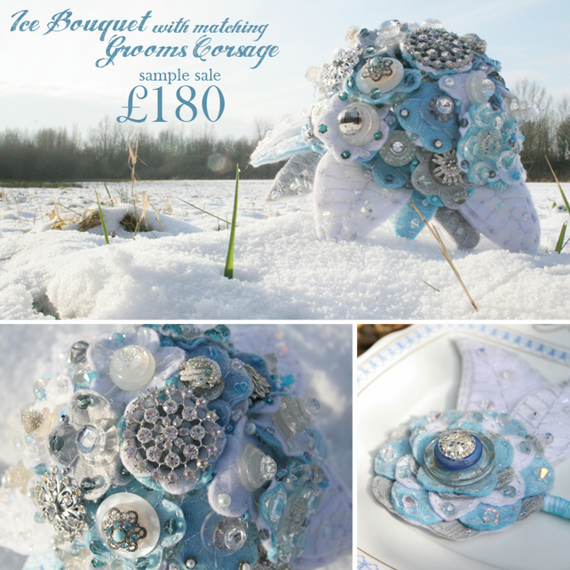 SALE: Ice Bouquet & Corsage