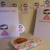 Personalised Flora Party Pack