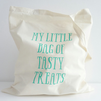 My Little Bag of Tasty Treats – Cotton Tote Bag
