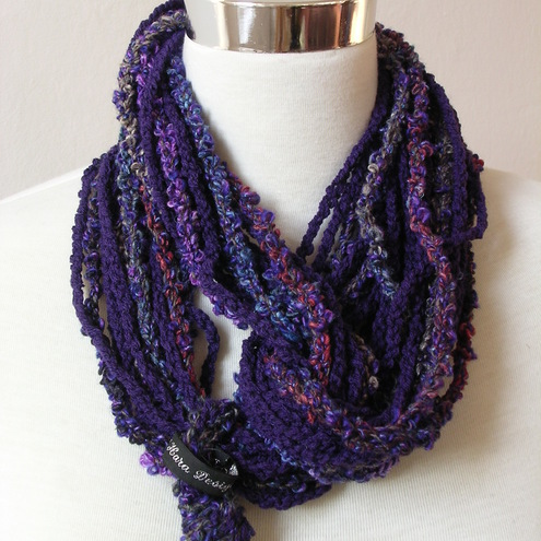 Purple Heather Necklash