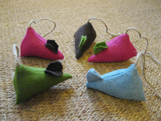 Felt Catnip Mouse Toy