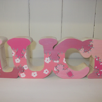 Handmade Wooden Name Puzzle/Jigsaw-  Deposit