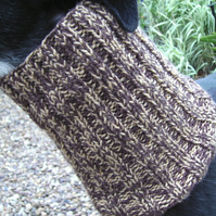 Greyhound Snood - Chocolate