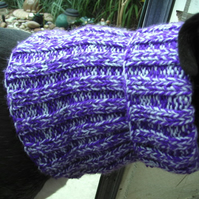 Greyhound Snood - Purple with a hint of blue