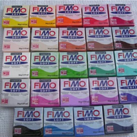 Fimo Soft 24 Different Colours