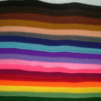 19 Colours of Felt Sheets