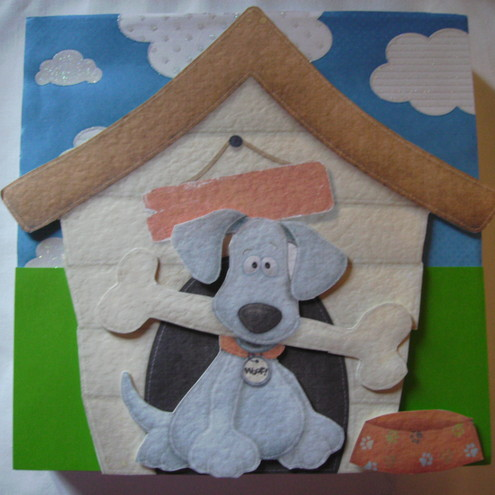 In the Dog House canvas
