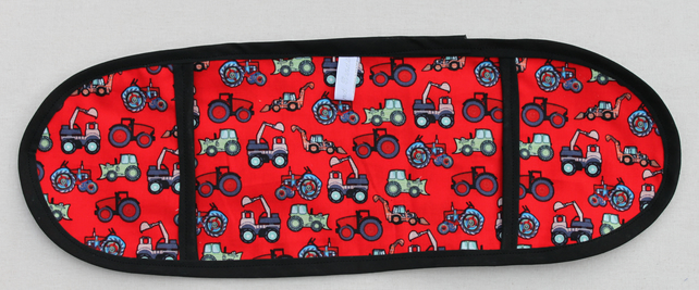 Tractors and diggers  toy mini oven gloves