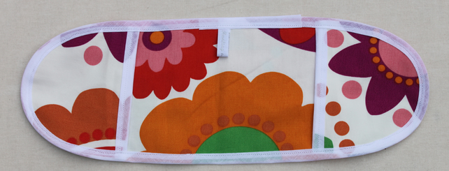 Retro floral  toy mini oven gloves