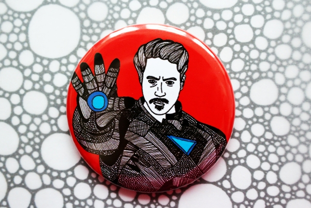 Iron Man --- Pocket Mirror