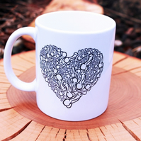 I Love You From My Genitals --- Printed Mug