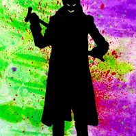 Suicide Squad: The Joker Silhouette --- Original Artwork