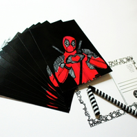 Printed Postcard --- Deadpool
