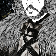 A4 Print --- King in the North