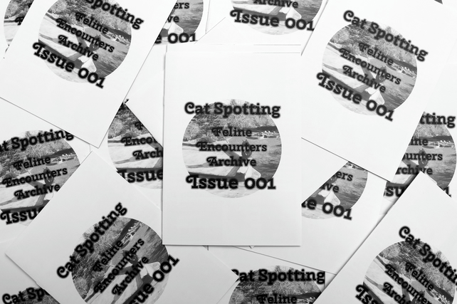 Zine --- Cat-Spotting: My Feline Encounters Archive - Issue 1