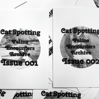 Zines Pack --- Cat-Spotting: My Feline Encounters Archive - Issues 1 & 2