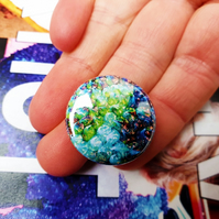 Badge Pin --- The Chimera Artist: Craig