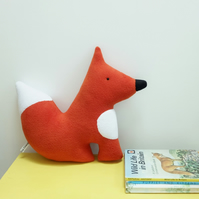 Fox Plush Toy, Fleece Red Woodland Fox, British Wildlife Soft Toy