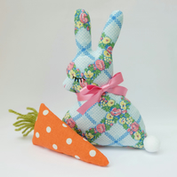 Easter Lavender Bunny with Lavender Carrot, Sweet Duo Easter Gift