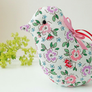 Lavender Bird, Pretty Cream Floral Scented Sachet