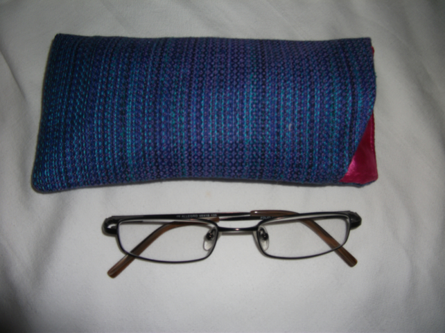 Hand woven Mercerised Cotton Glasses Case