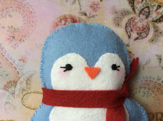 Little Felt Penguin