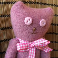Pink Jumper Teddy Bear