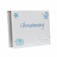 Christening Keepsake Box Baby Boy