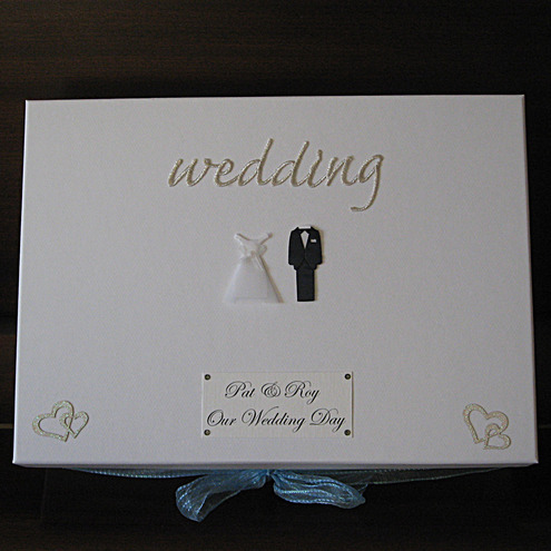 Large Personalised Wedding Keepsake Box