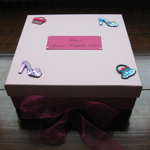 Mother's Day Personalised Keepsake Box