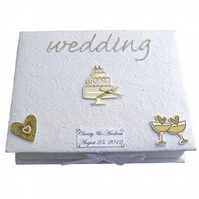 Wedding Keepsake Box - Weddng Cake