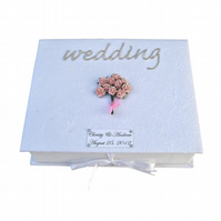 Wedding Keepsake Box - Perfect Pink Roses